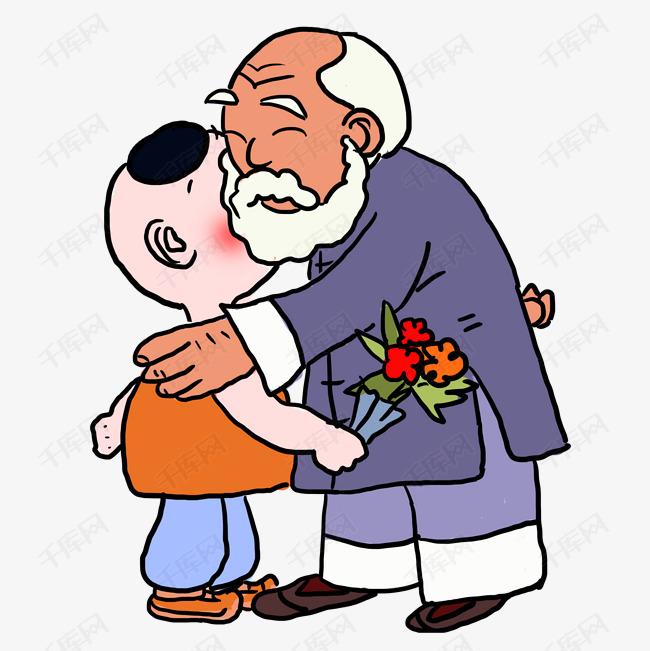 重阳节重阳节老人老人家年轻人图片