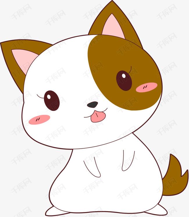 q版可爱卡通萌萌哒小动物十二生肖小狗