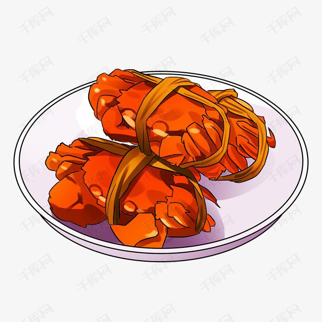 手绘卡通新年美味海鲜素材图片免费下载 高清psd 千库网 图片编号11435967