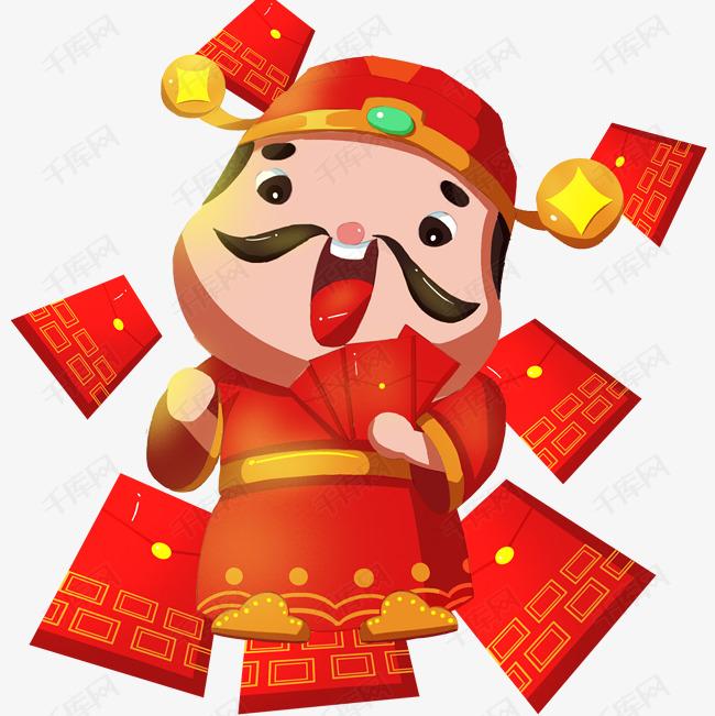 古代百姓春节敲锣打鼓舞狮放炮 金龙浮空财神爷发红包欢庆动画图片