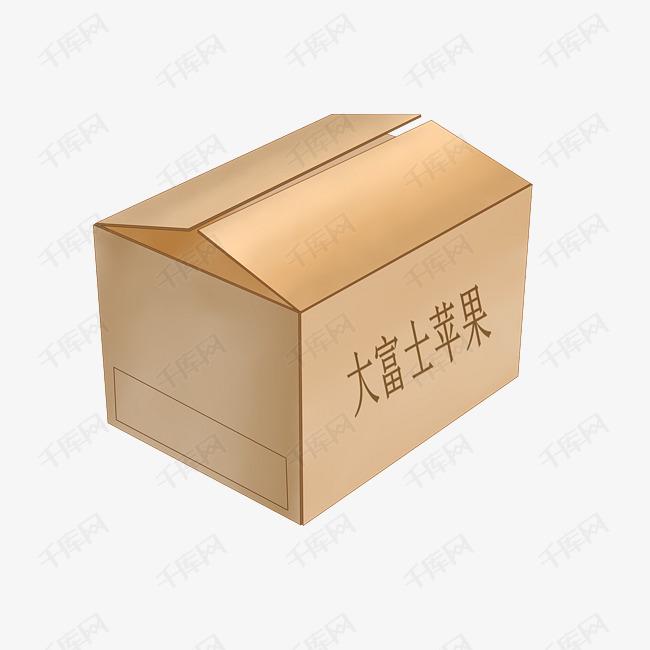 大富士苹果包装箱图片
