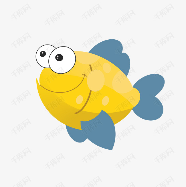 可爱小金鱼矢量图素材图片免费下载 高清psd 千库网 图片编号10235749