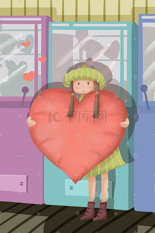 插图插画_机器节气节日_竖图图片素材高中女生高长怎么图片