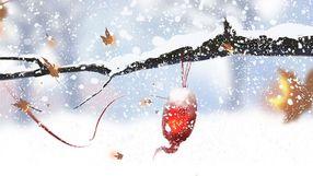 节气大雪寒露霜降冬至森林手绘节日
