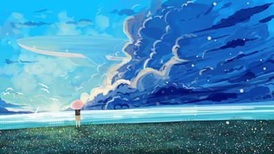 治愈·天空与海