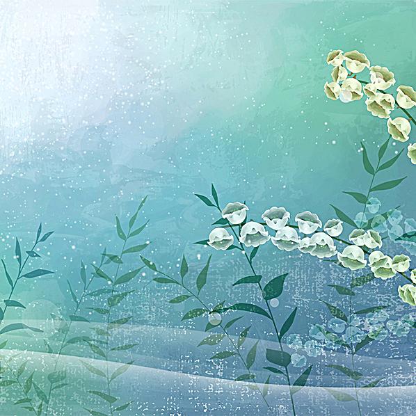 清新 花朵 唯美浪漫 梦幻