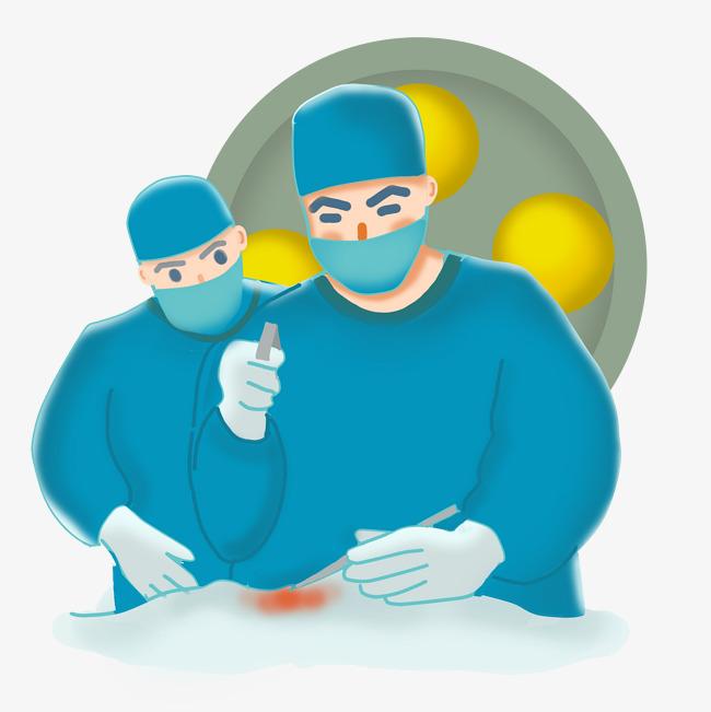 戴口罩和手套的医生图片