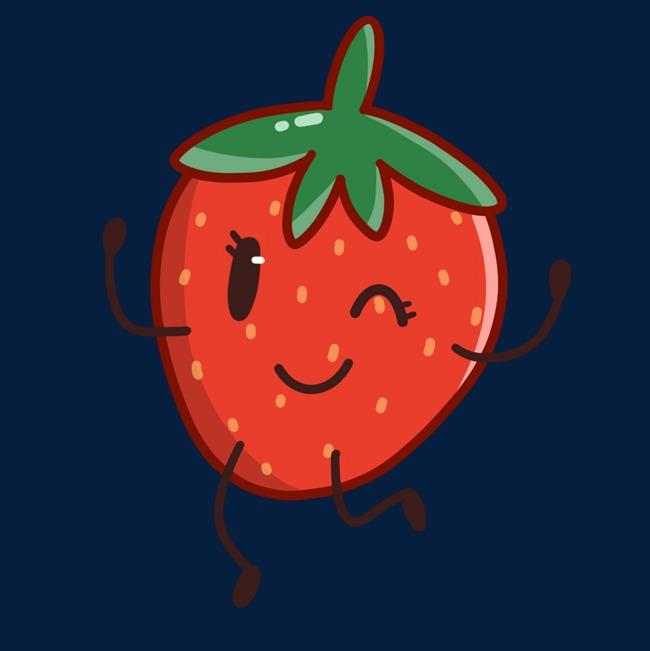 草莓表情照片一只素材图片免费下载_高清p表情包拍怎样水果用的做图片