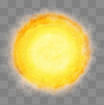太阳火球png免扣素材