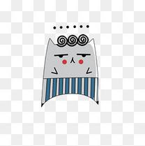 卡通无语表情动画配图模板下载给咖喱西瓜包给表情图片