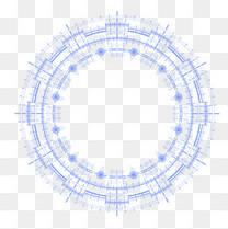 蓝色发射性光圈背景