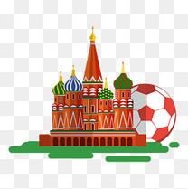 俄罗斯世界杯城市与足球宣传