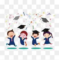 卡爱的大学生毕业