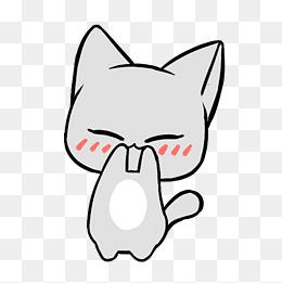 手绘卡通可爱萌宠动物表情包通用实用猫咪小猫