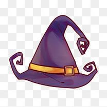 万圣节狂欢帽子插画