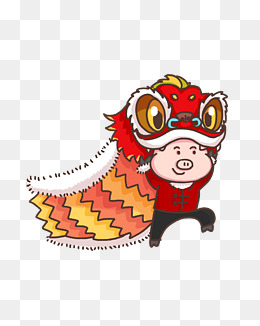 > 舞狮卡通图片 鼠年舞狮卡通图片  2019年10月29卡通老鼠新年舞狮子图片