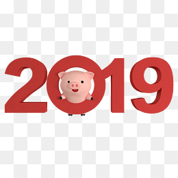 c4d立体2019字体图片
