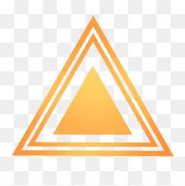金色三角形光滑渐变图案图片