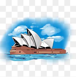 澳大利亚悉尼歌剧院建筑图片