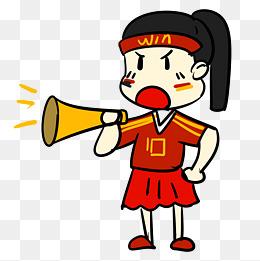 拿喇叭喊的卡通人物_【卡通喇叭人物素材】免费下载_卡通喇叭人物图片大全_千库网png