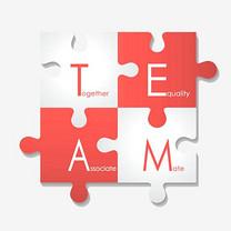 红白拼图团队英语