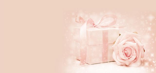 浪漫礼盒背景