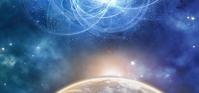 科技星空背景