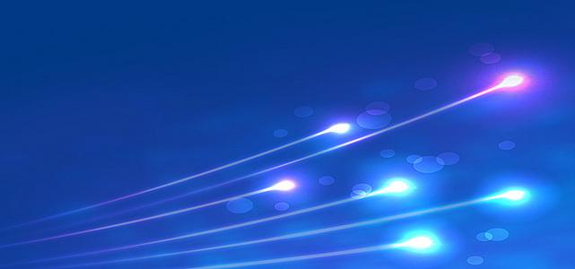 炫彩蓝色背景