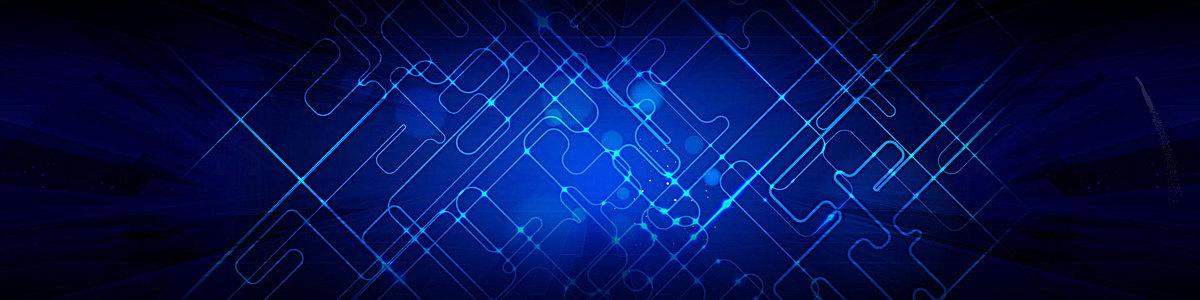 科技蓝炫丽背景