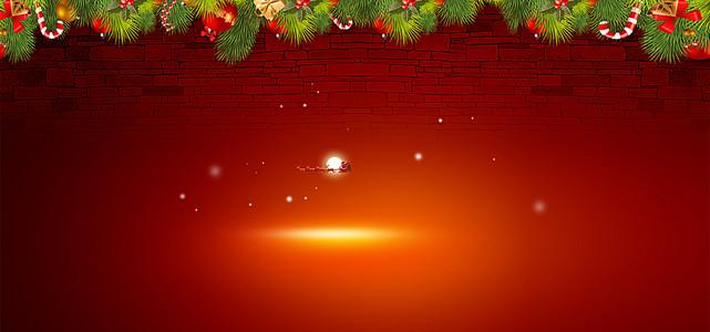 圣诞节激情背景
