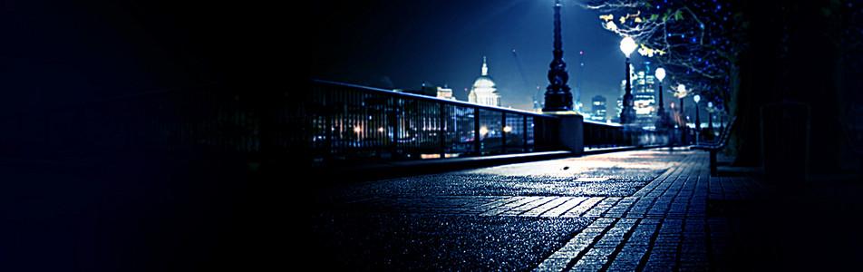 城市夜景英伦风背景设计素材图片下载桌面壁纸