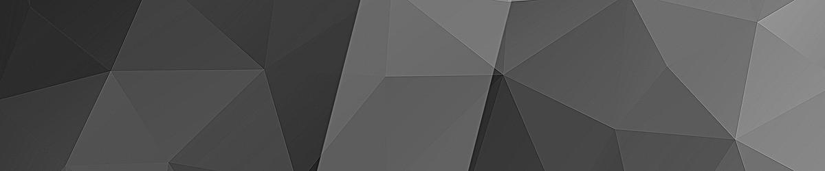 黑白色互联网电商多边形banner背景
