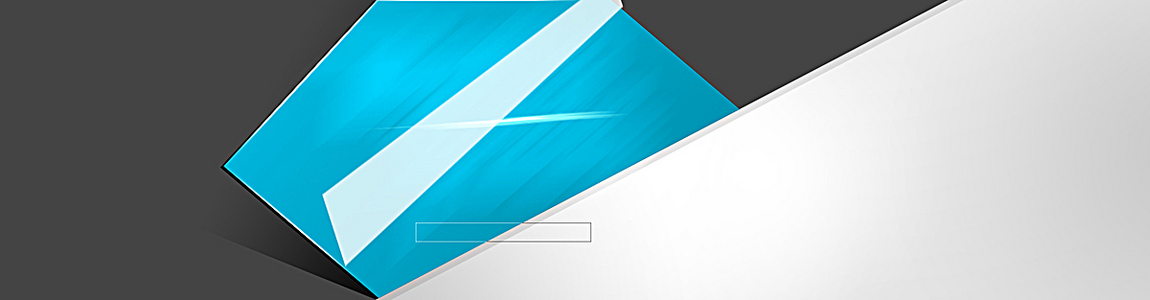 简约蓝色几何海报背景