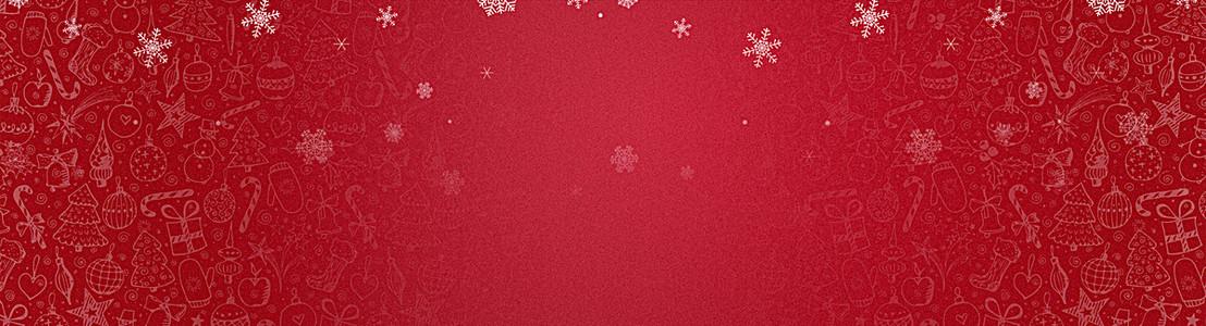 圣诞红色喜庆banner