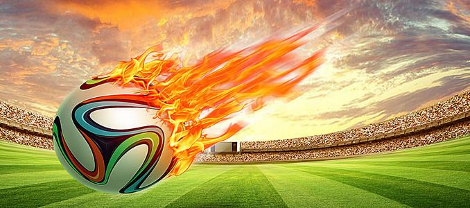 狂热世界杯海报