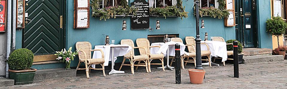 街头 椅子