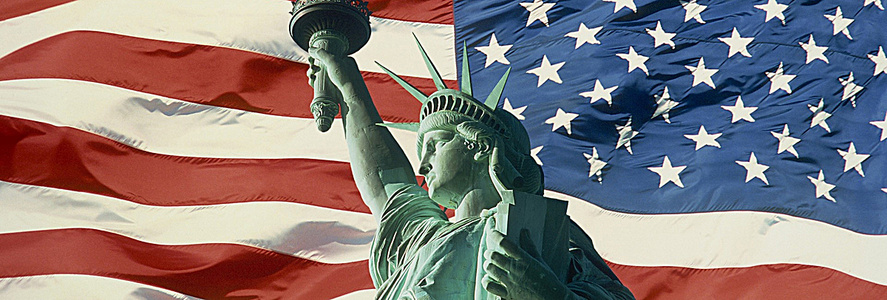 美国自由女神像图
