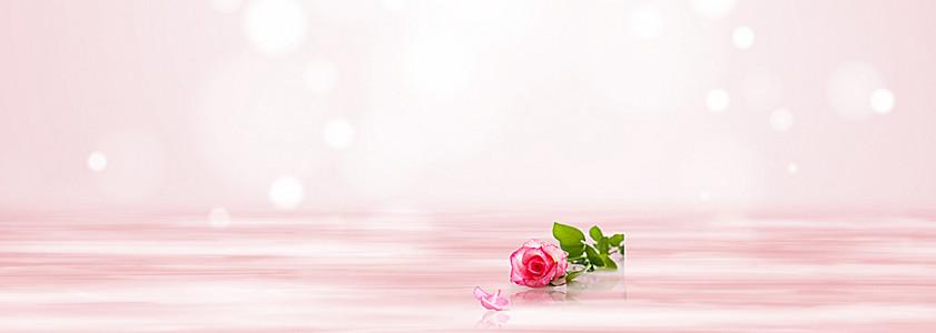 粉色唯美 背景