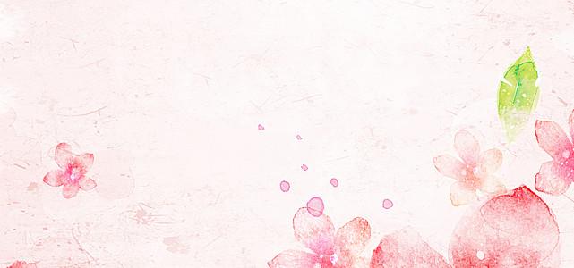 粉红色情人节背景