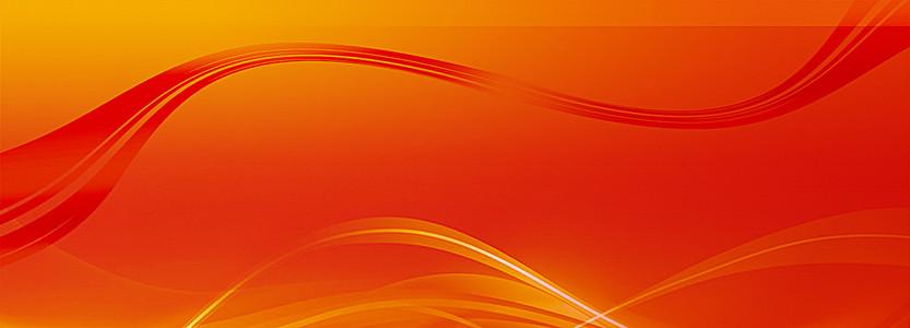 红色背景banner
