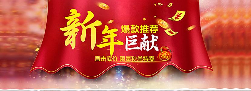 新年年货banner