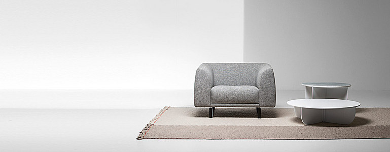 家居家装沙发灰色背景