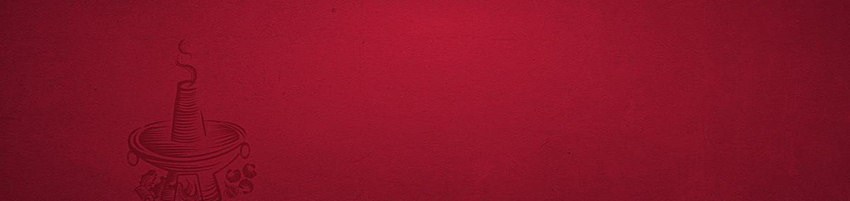 深红色质感食品类活动背景
