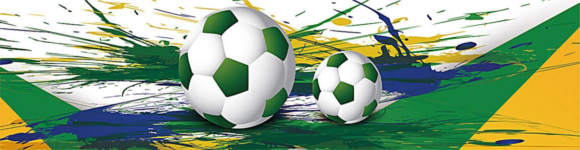 精美运动类足球背景