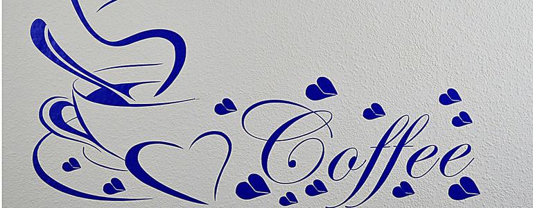蓝色花纹图案图片