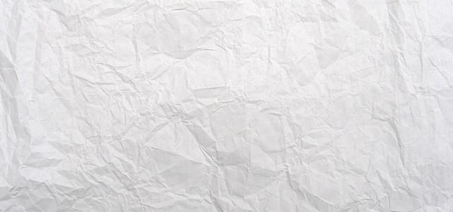 白色纸皱背景