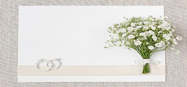 小清新花束背景