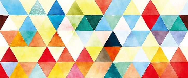 多彩几何背景
