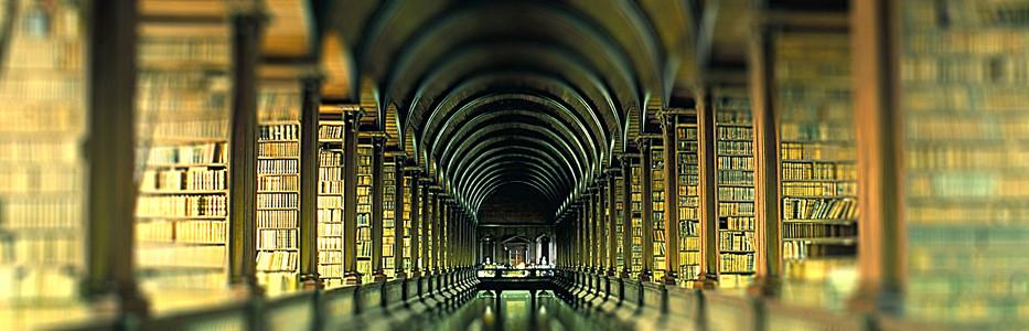图书馆摄影背景