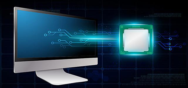 科技电脑背景